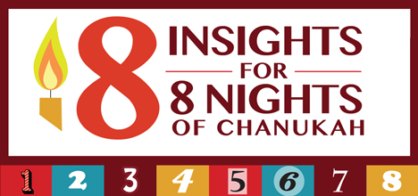 8 Insights for 8 Nights of Chanukah