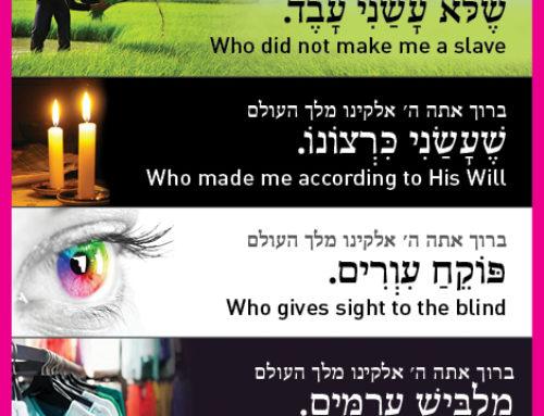 Birchos HaShachar Bookmarks