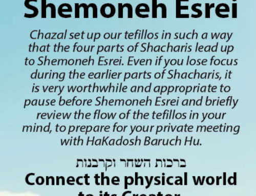 Prepare for Shemoneh Esrei (Bookmark)
